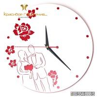 Настенные часы Влюбленные (N026)