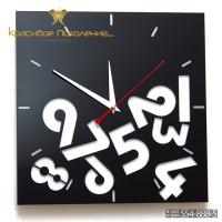 Настенные часы Вперемешку (N027)