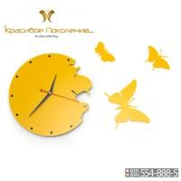Настенные часы Бабочки (N006)