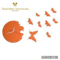 Настенные часы Бабочки XXL (N017)