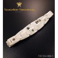 Браслет женский керамический с биомагнитами CBK014