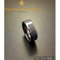 Кольцо мужское из керамики CRK004 20 р-р