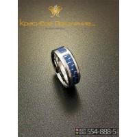 Кольцо мужское из вольфрама CRK005