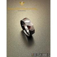Кольцо мужское из керамики CRK009