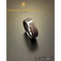 Кольцо мужское из керамики CRK012 20 р-р