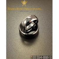 Кольцо мужское из вольфрама CRK013