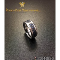 Кольцо мужское из вольфрама CRK014