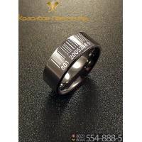 Кольцо мужское из керамики CRK021