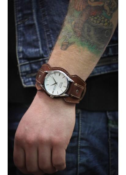 Авторский браслет для часов REMEN M001