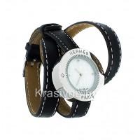 Часы с двойным ремнем Hermes CWD106