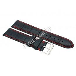 Ремешок кожаный для часов 22 мм 2731-2211
