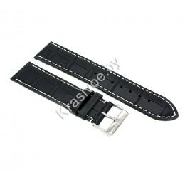 Ремешок кожаный для часов 18 мм 2741-1801