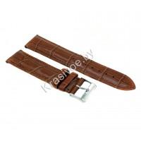 Ремешок кожаный для часов 22 мм 2042-2201