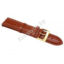 Ремешок кожаный для часов 22 мм CRW035-22