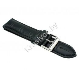 Ремешок кожаный для часов 22 мм 2041-2201