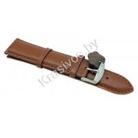Ремешок кожаный для часов 24 мм CRW157-24