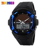 Спортивные наручные часы с солнечной батареей Skmei 1056-2 (оригинал)