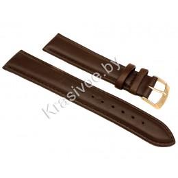 Ремешок кожаный для часов 16 мм CRW166-16