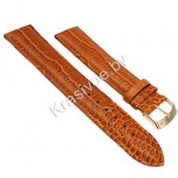 Ремешок кожаный для часов 22 мм CRW169-22