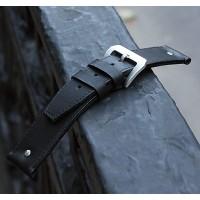 Кожаный ремешок ручной работы для часов 18 мм M030-18