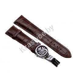 Ремешок с раскладной застежкой для часов 22 мм CRW186-22
