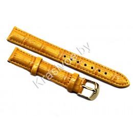 Ремешок кожаный для часов 16 мм CRW196-16