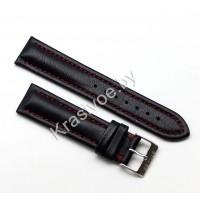 Ремешок кожаный для часов 20 мм 2711-2001