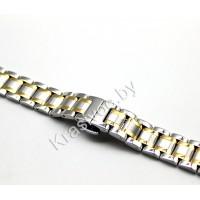 Браслет для часов металлический 22 мм