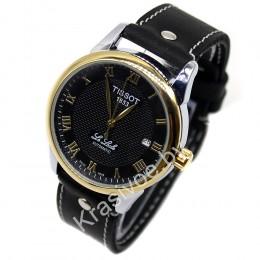 АКЦИЯ! Часы Tissot + ремешок ручной работы от Remen CWC641