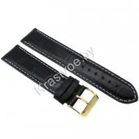 Ремешок кожаный для часов 22 мм CRW277-22