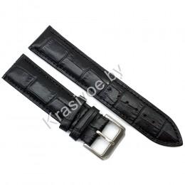 Ремешок кожаный для часов 18 мм CRW288-18