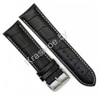 Ремешок кожаный для часов 24 мм CRW296-24