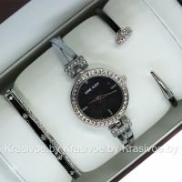Комплект! Женские наручные часы Anne Klein + два браслета CWC445