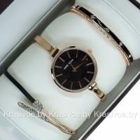 Комплект! Женские наручные часы Anne Klein + два браслета CWC689