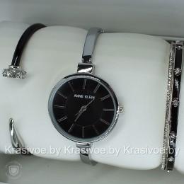 Комплект! Женские наручные часы Anne Klein + два браслета CWC961