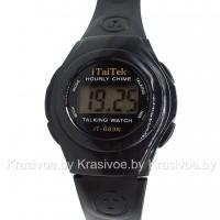 ГОВОРЯЩИЕ наручные часы iTaiTek CWS548 (оригинал)