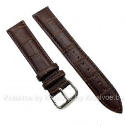 Ремешок кожаный для часов 20 мм CRW077-20