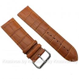 Ремешок кожаный для часов 20 мм CRW078-20
