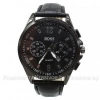 Мужские кварцевые наручные часы черного цвета BOSS CWC095