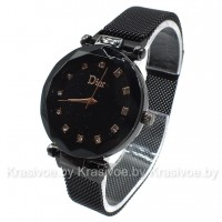 Женские наручные часы черного цвета Christian Dior CWC176