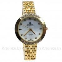 Женские наручные часы на металлическом браслете Chanel CWC800