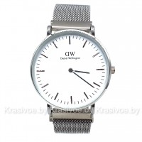 Часы на металлическом браслете с магнитной застежкой Daniel Wellington CWC974