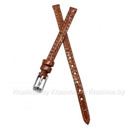 Ремешок кожаный для часов 6 мм S11-6-TAN