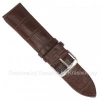 Ремешок кожаный для часов 18 мм CRW029-18