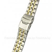 Браслет металлический для часов 22 мм CRW345-22