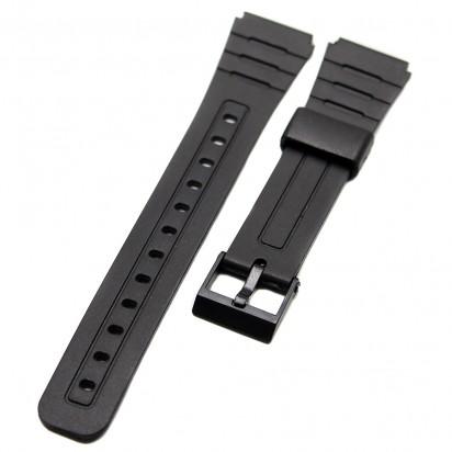 Ремешок пластиковый для часов Casio 18 мм CRW357-18