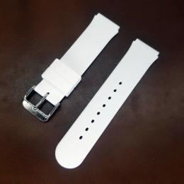 Ремешок резиновый белого цвета для часов 18 мм BC103W-18