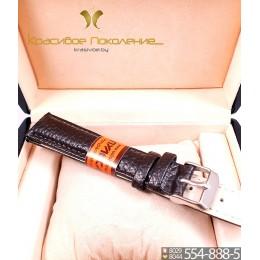 Ремешок кожаный для часов 18 мм CRW147-18