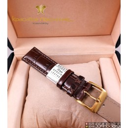Ремешок кожаный для часов 10 мм CRW006-10