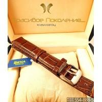 Ремешок кожаный для часов 26 мм CRW036-26